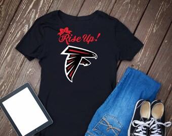 Atlanta Falcons T-Shirt, Falcons Raglan Shirt, Falcons Shirt, Atlanta Falcons, Football Tee, Football T-Shirt, Football Shirt