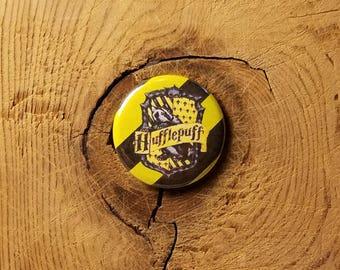 "Hufflepuff (1-1/4"" Pinback Button)"