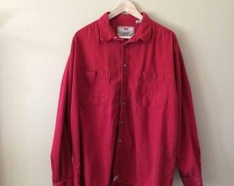 Vintage Levi's Button Down Shirt