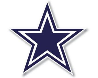 Dallas Cowboys Star Die Cut Decal