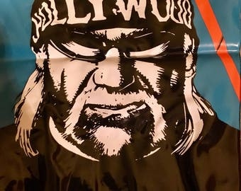 Rare Hollywood Hulk Hogan NWO bat WCW