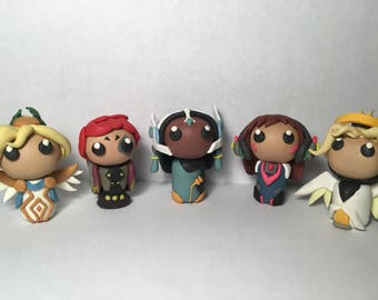 """Choose a 2"""" Overwatch Clay figure"""