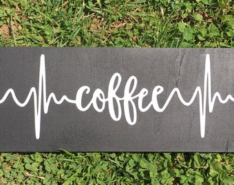 Reserved ! Coffee sign- inventory sale