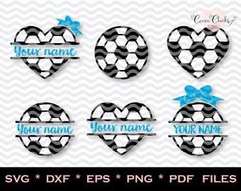Soccer monogram SVG / Soccer mom / svg girls / svg designs / svg soccer / svg dxf eps pdf png jpg