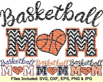 Love basketball svg cheer basketball mom svg files for Cricut Silhouette heart life outline monogram svg shirt htv decal design dxf cut file