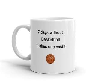 Funny Basketball Mug, Basketball Coach, Novelty Coffee Cup, Personalized coach, Basketball Coach Gift,Gift for coach, Sports mug