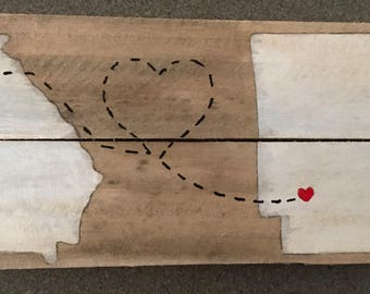 Georgia and Arkansas Long Distance Pallet Painting