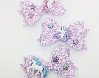 Medium Dolly Unicorn Hundreds and Thousands Bow