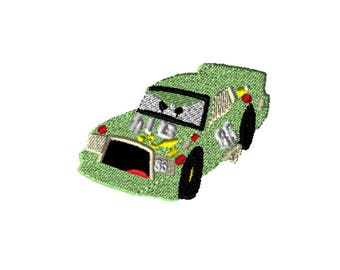 5x7 Embroidery File: Cars, Chick Hicks, Choose Your Size and Format