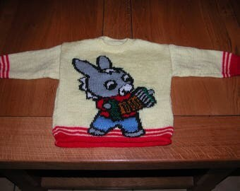 Sweater donkey mischievous 2 years