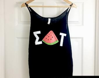 Sigma Delta Tau Watermelon Tank
