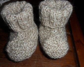 cute little baby booties