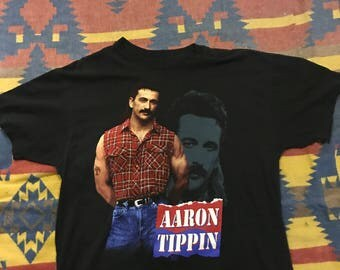 Vintage Country Aaron Tippin Tshirt XL