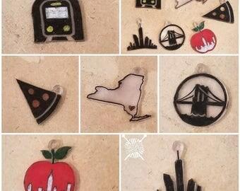 New York stitch marker set