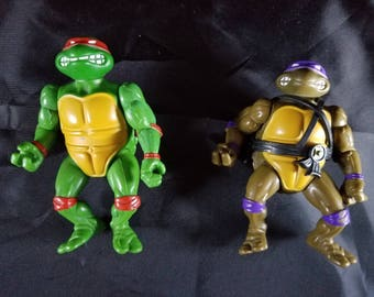 Vintage Teenage Mutant Ninja Turtles Action figures