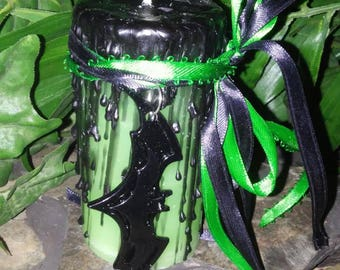 Persephone Queen of The Underworld Ritual Candle
