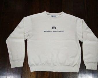 Sergio Tacchini sweatshirt sweater jumper pullover spellout