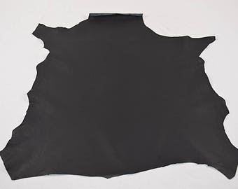 Matte black nappa lambskin leather skin (17121303)
