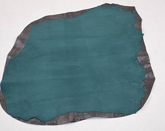 Dark Turquoise Velvet Lambskin Coupon (18013021)