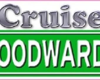 I Cruised Woodward Ave. Sticker/Decal