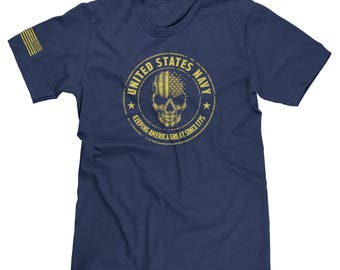 United States Navy USA Military Veteran Appreciation Keeping America Great Since 1775 T-shirt Tee