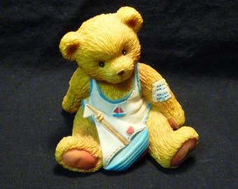 Cherished Teddies Arthur August Bear Smooth Sailing 914827 Enesco Boxed