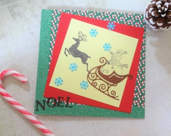 handmade Christmas Noel card wife, Christmas handmade cards, Xmas card husband, Xmas cards kids, kids Christmas card