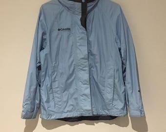 VINTAGE - Columbia outdoor jacket - light blue - 90s - large - stylish and warm