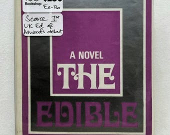 1st UK edition: The Edible Woman by Margaret ATWOOD with dustwrapper