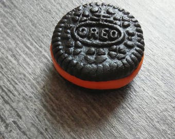 Charm small Oreo polymer clay Halloween special