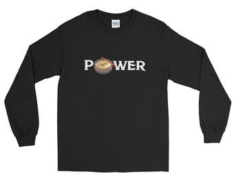 Ramen Power Long Sleeve T-Shirt Japanese Soup