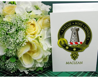 Greeting Cards Clan & Crest - Maclean