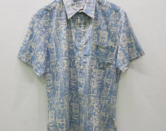Vintage Button Down Shirt Honolulu Tori Richard Nice Design
