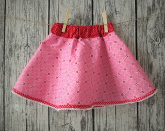 Sweet girls skirts, pink/red, GR 86/92