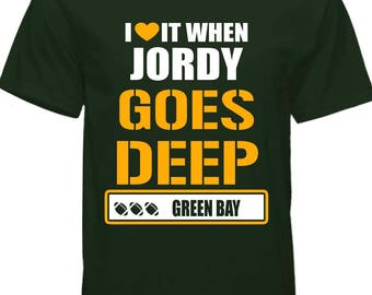 Green bay Jordy Nelson T-shirt !! free shipping