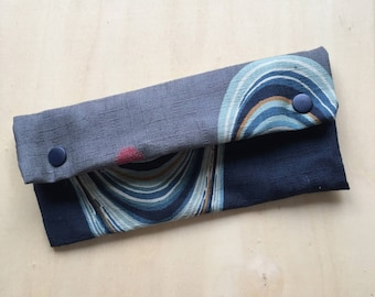 Tobacco pouch in Japanese fabrics