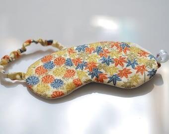 Sleep mask, kimono silk eye mask, travel accessory