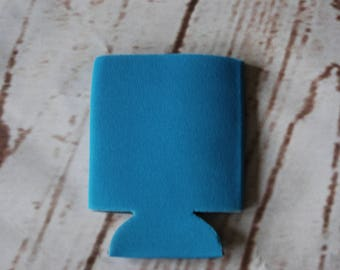 Blank Can Huggers-Cerulean Blue