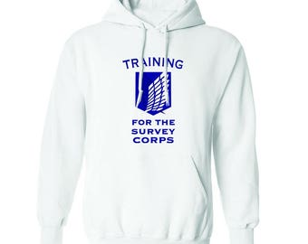 Training For The Survey Corps Graphic Men's Hoodie