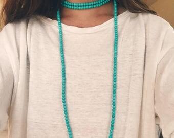 Turquoise XL wrap
