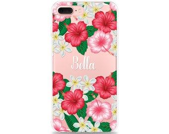 TROPICAL iPhone 8 Case, iPhone X Case iPhone 8 Plus Case Name iPhone 7 Plus Case iPhone 6s Plus Case iPhone 6 Plus Case iPhone 7 Case Custom