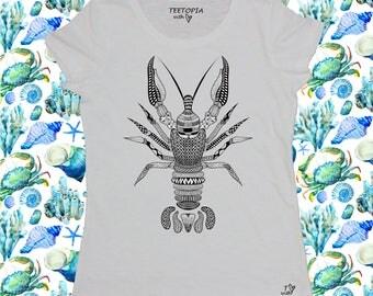 LOBSTER TATOO  - t-shirt donna