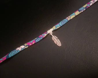 Liberty Choker and feather charm