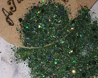 Chunky Glitter Mix Slytherin