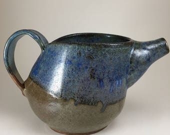 Blue Dip Pitcher