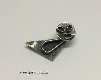 sterling silver James mason brooch #21