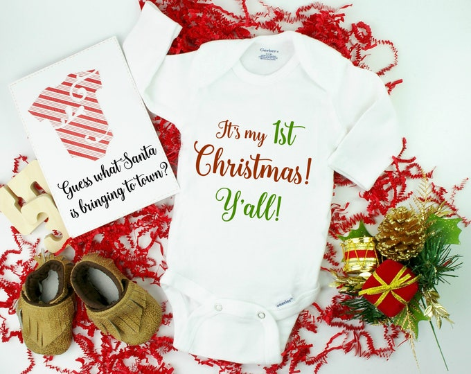 Christmas Pregnancy Announcement Idea