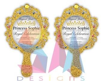 Mirror Invitation for a Princess