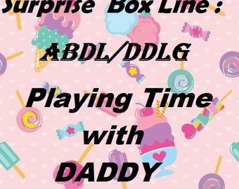 Magic Surprise Box Line - Playing Time with Daddy