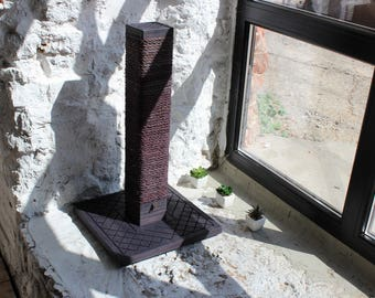 Cat scratching post - Square Pole (Exclusive color). Cat scratcher, scratching post, cat furniture